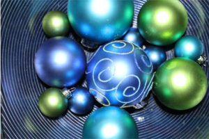 Ornaments in Bowl