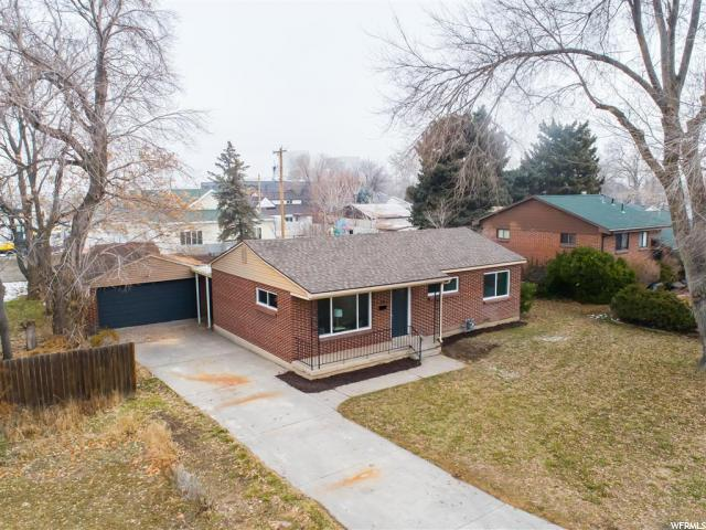 One level starter or empty nester home, completely renovated interior  3 beds, 1 bath, detached garage